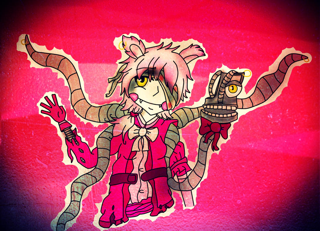 Five nights at freddy 2 mangle by miclovin17 on deviantart