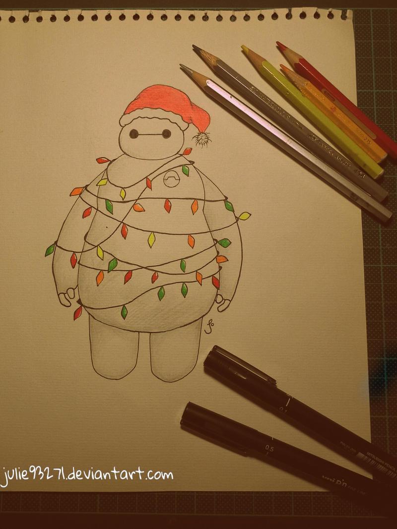 Baymax Christmas by julie93271 on DeviantArt