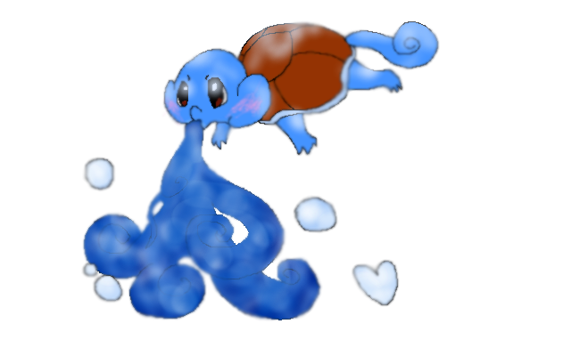 Day Three Squirtle by Caution-Koneko