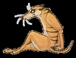 thylacine template