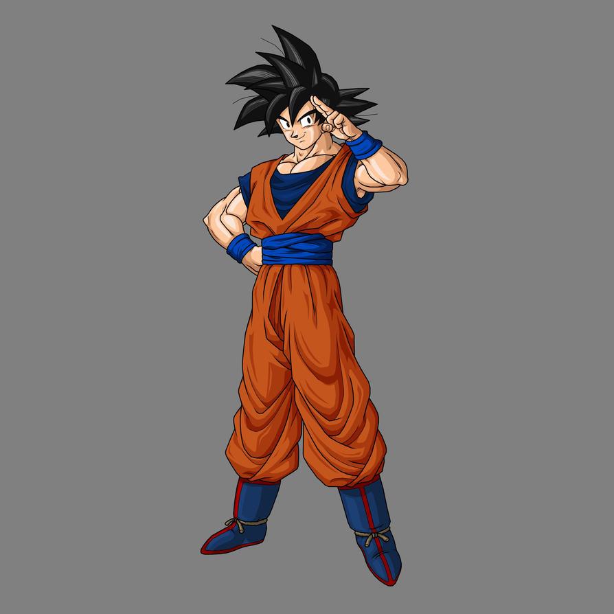 Goku Late - Base by RexobiasGoku