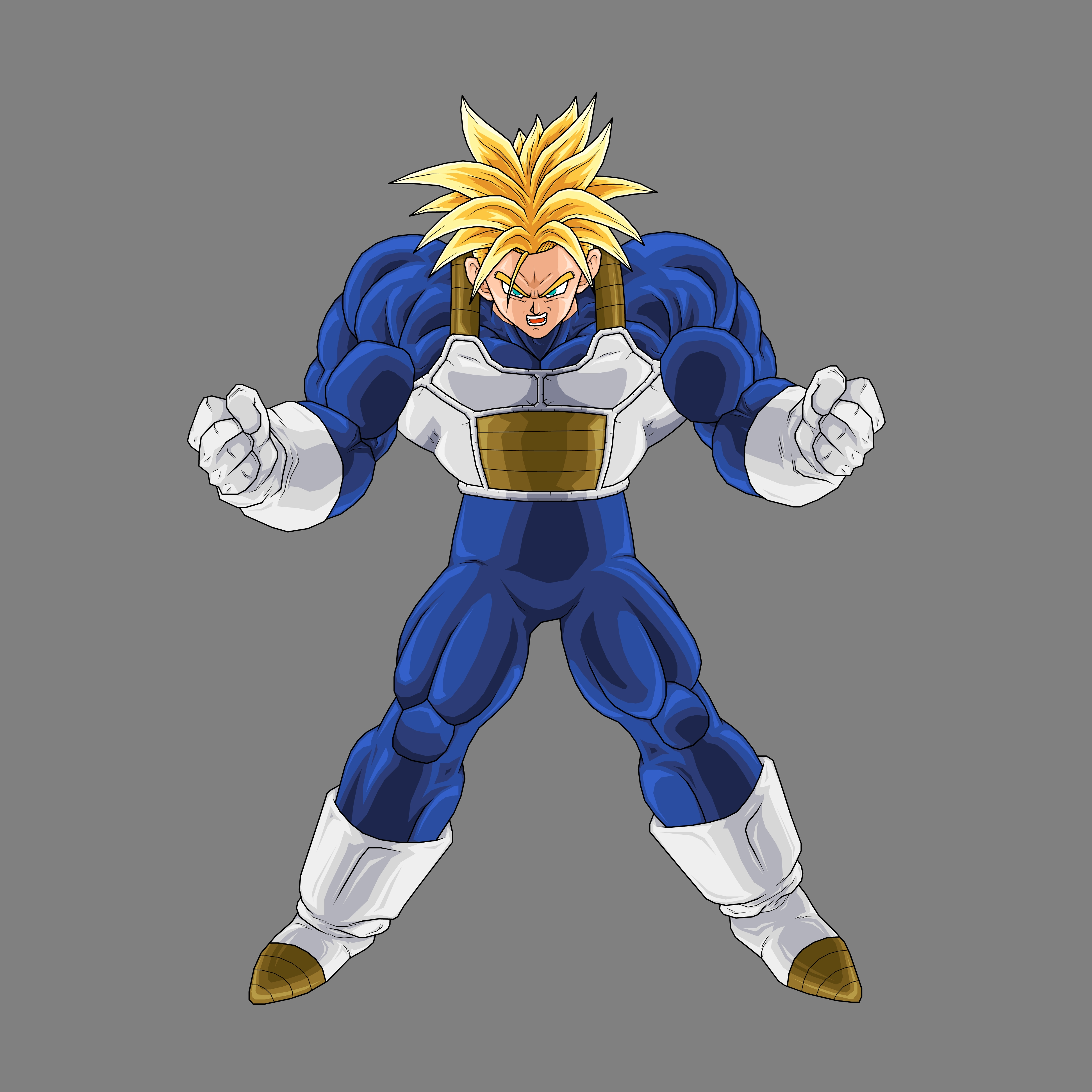 Dragon Ball Z Trunks Super Saiyan