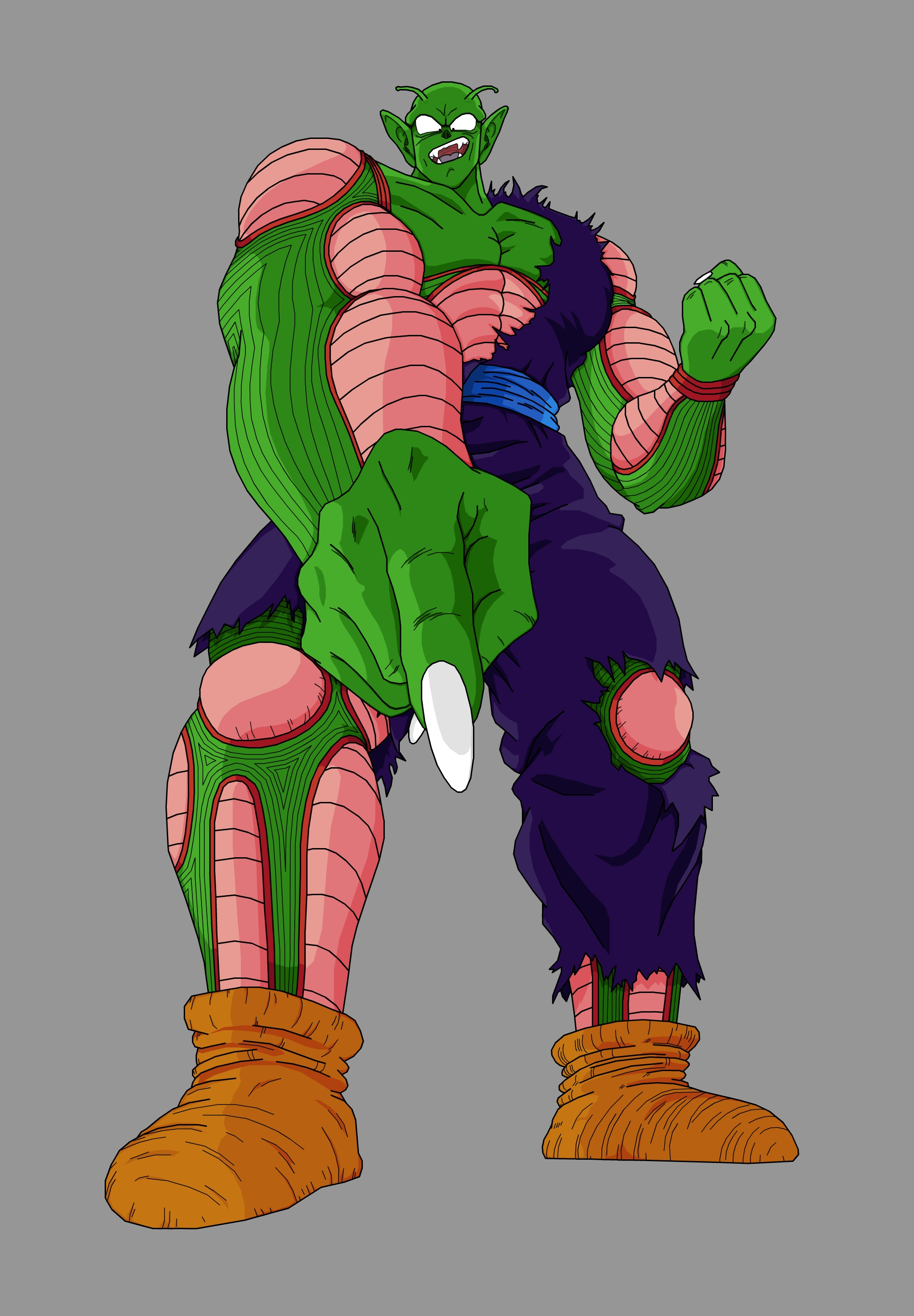 Piccolo Jr. - Super Giant Form by Rexobias on DeviantArt