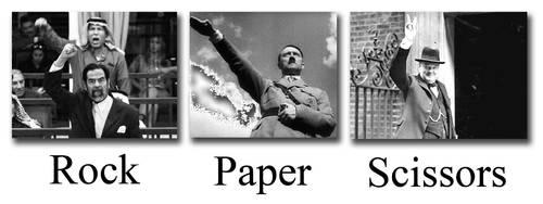 Rock paper scissors by Shull