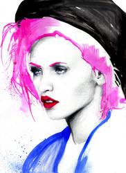 max gregor pink hair by maxgregorart