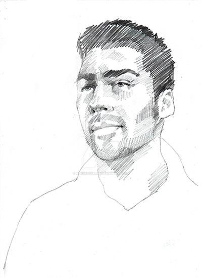 Max Gregor Self Portrait by maxgregorart