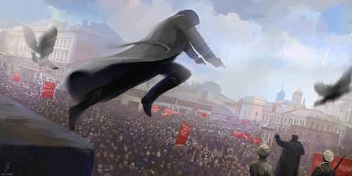 AC fanart. October Revolution