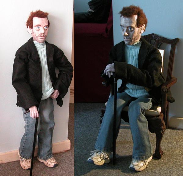 Dr. House Doll by Vulkanette