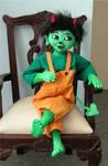 Putschi, the green Devil