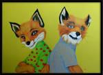 Mr. and Mrs. Fox