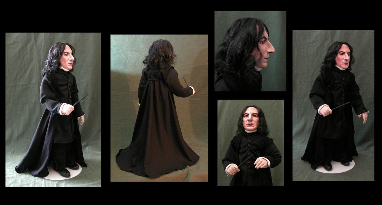Severus Snape Doll by Vulkanette