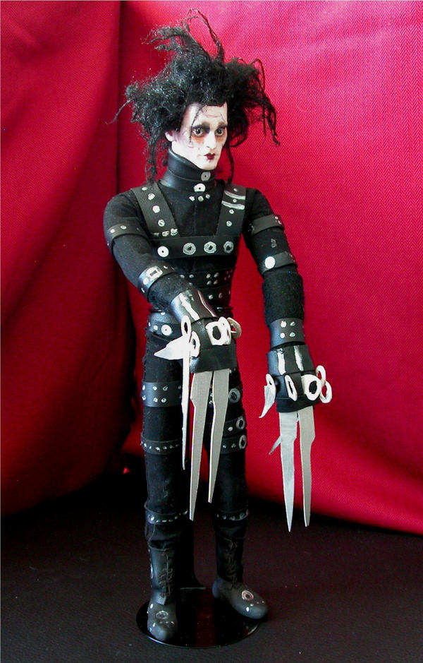 Edward Scissorshands Doll 2 by Vulkanette