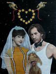 Cosmic Wedding by Vulkanette