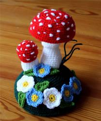 Mushroom Pincushion