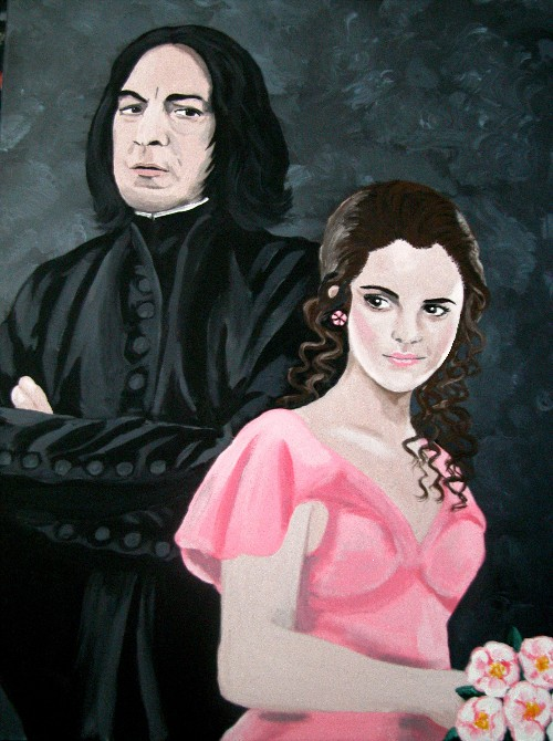 Snape and Hermione by Vulkanette on DeviantArt