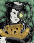 Borg with Teddybear