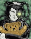 Borg with Teddybear