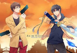 Ao No Exorcist - Yukio and Rin