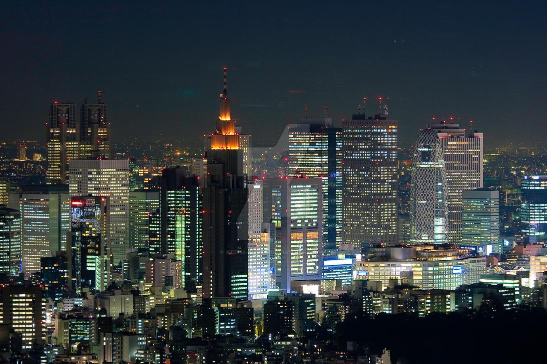 Shinjuku Tokyo Night Time by Keith-Killer