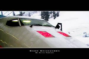 Snow Shinkansen by Keith-Killer