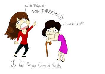 Amelia and Emma by Cycamelo