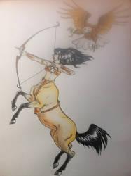 Centaur by Cycamelo