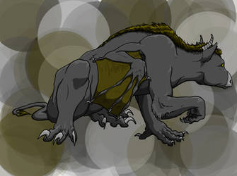 Gargoyle by Cycamelo