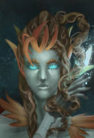 Haunted Zyra by KatZina