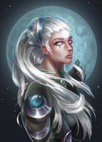 Scorn of the moon by KatZina