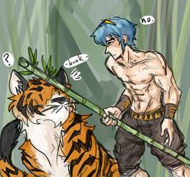 tiger tamer marth by Prince-Marusu
