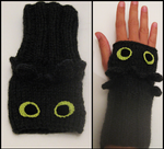 Toothless Wrist Warmers