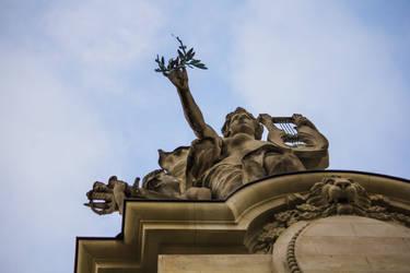 Toit du grand palais by CharlesBrunet