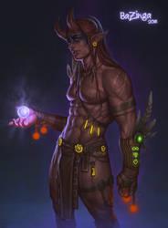 horned guy
