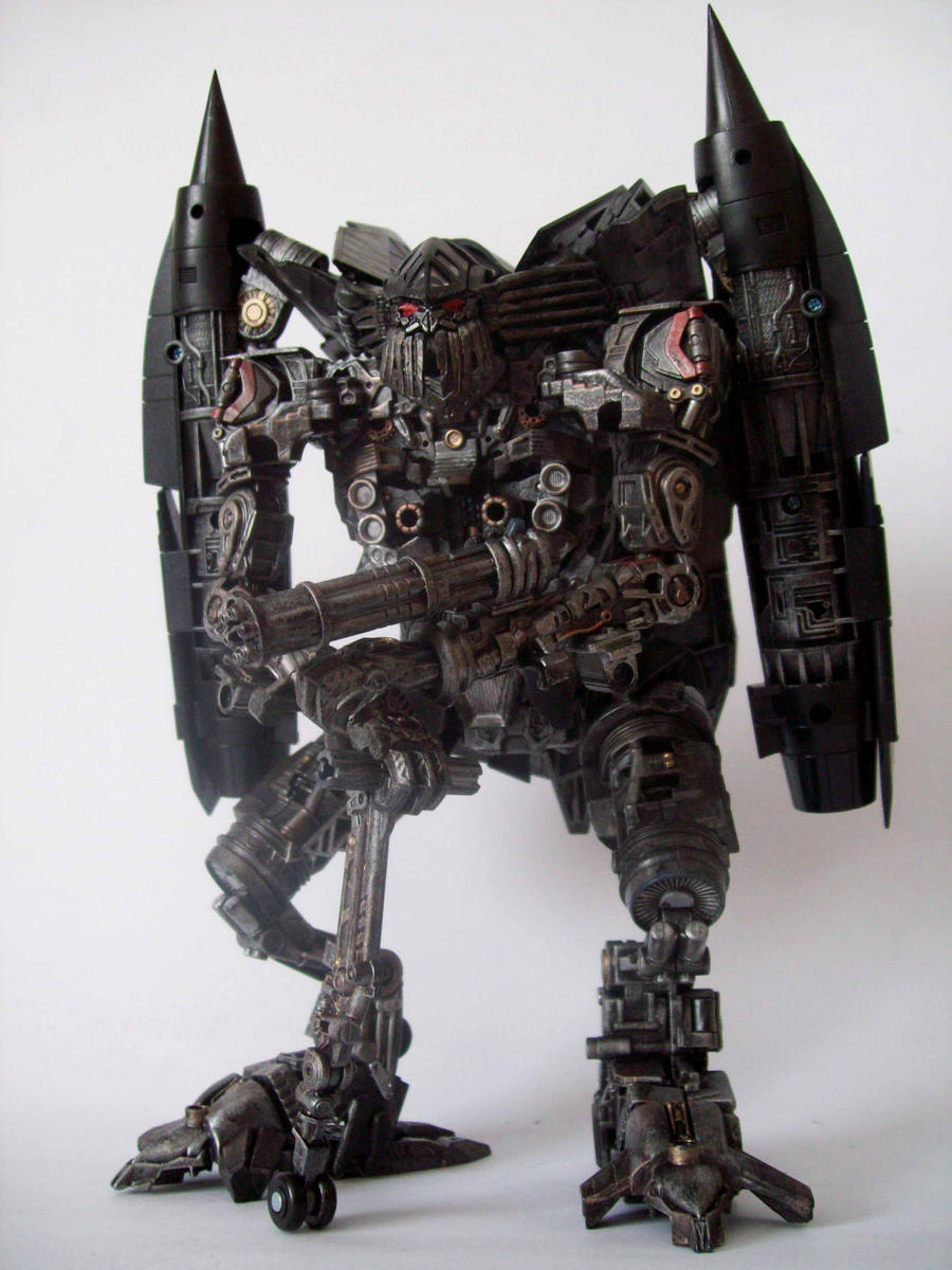Jetfire ROTF repaint 1 by Argahal