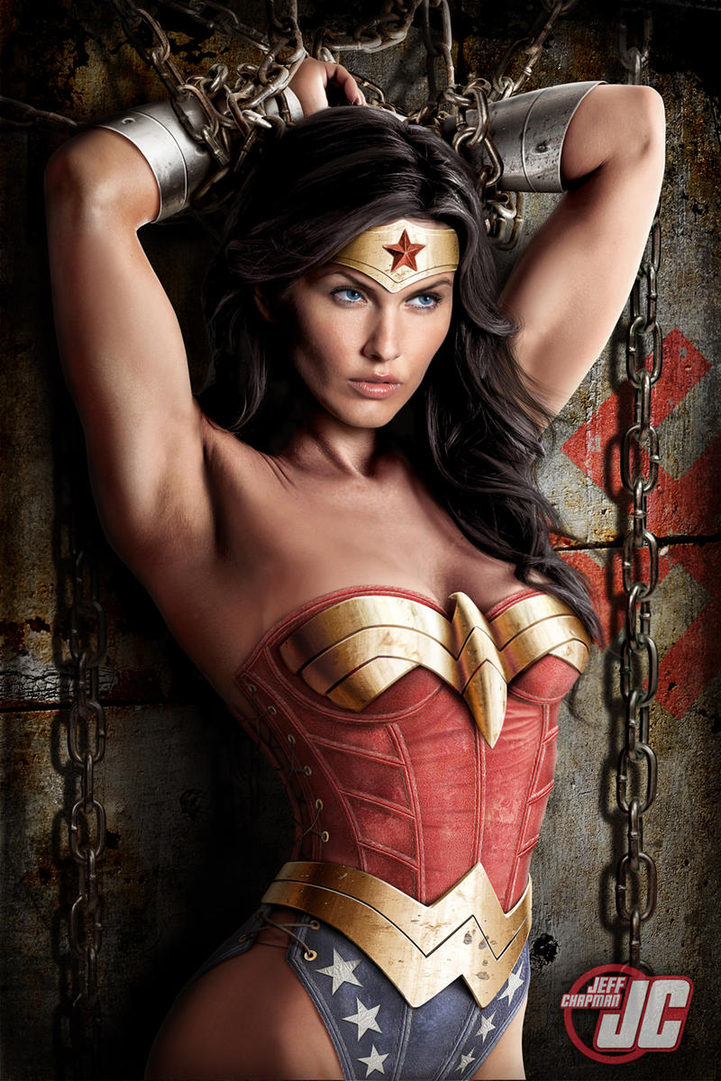 Wonder Woman in Chains by Jeffach