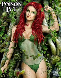 Poison Ivy Commission by Jeffach