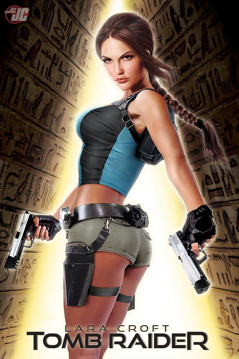 Lara Croft Commission by Jeffach