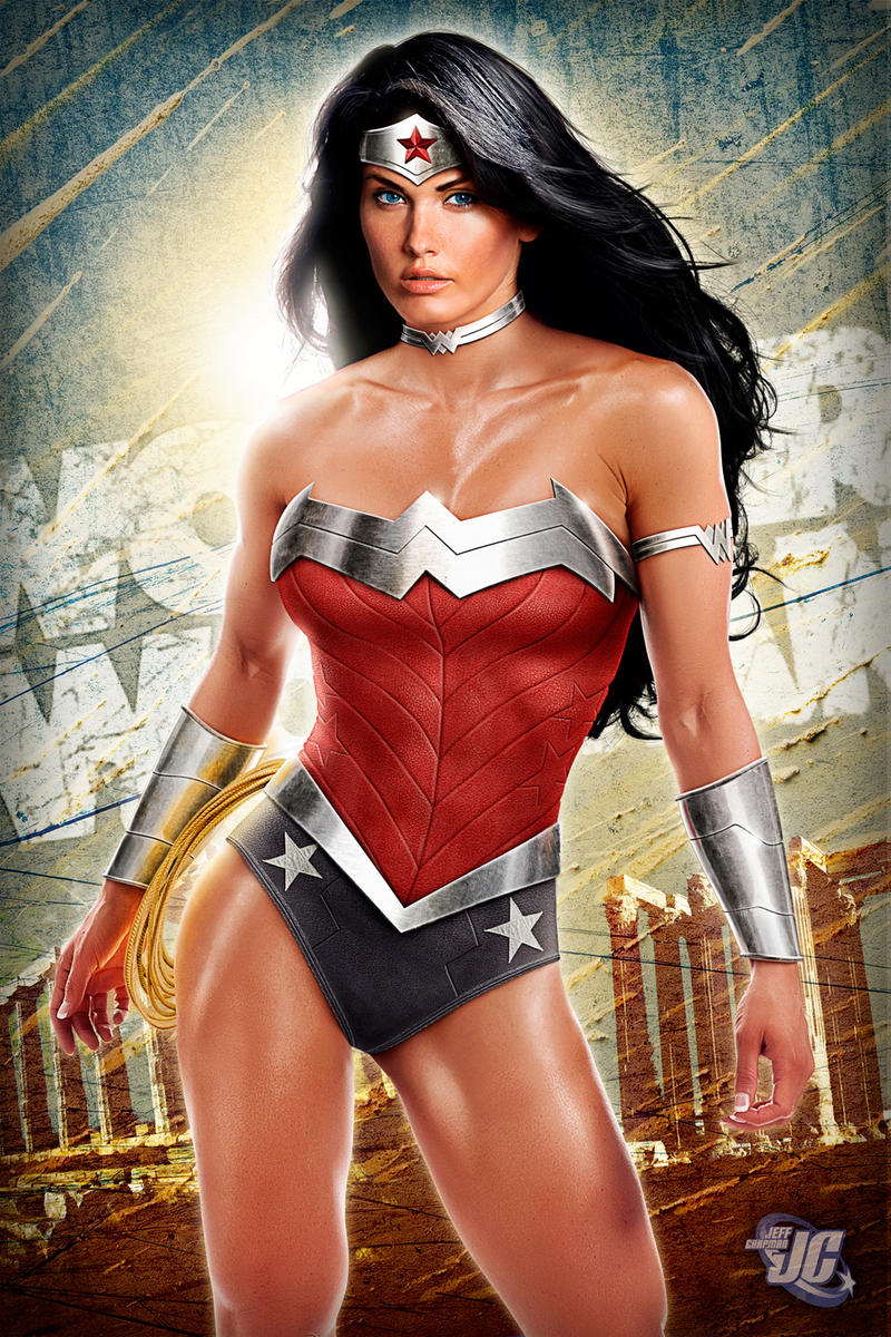 Wonder Woman New 52 Relaunch Costume by Jeffach
