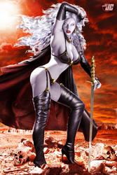 Lady Death by Jeffach
