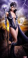 Evil-Lyn from He-man by Jeffach
