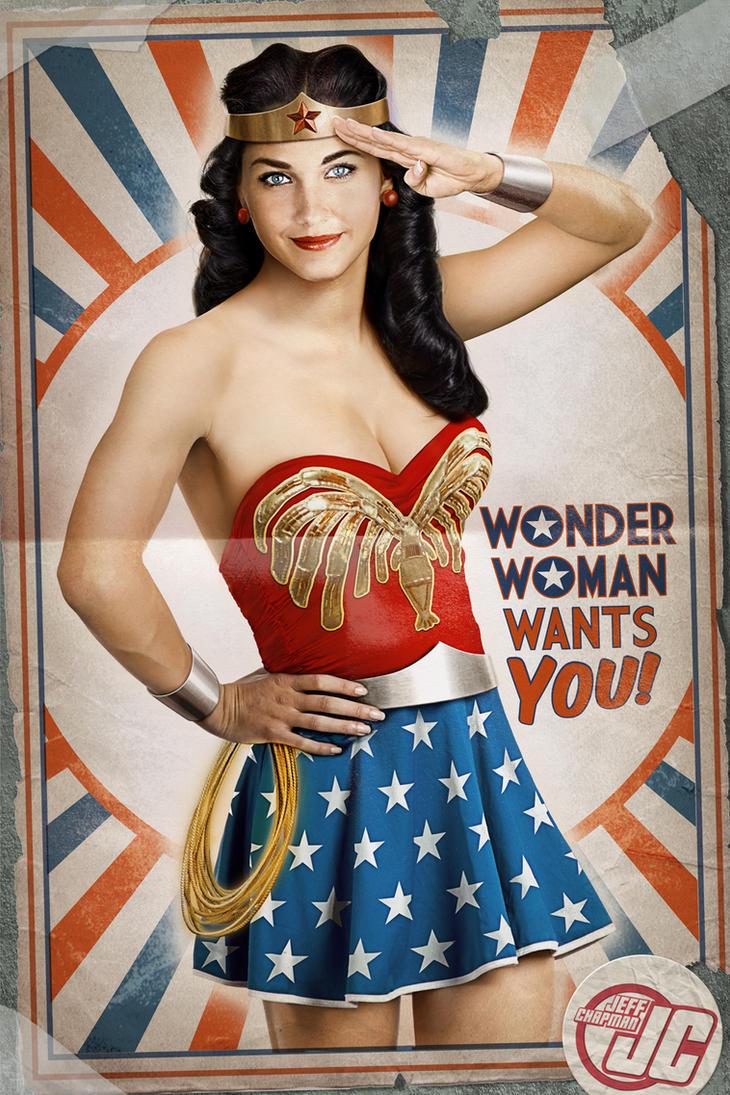 Retro Wonder Woman by Jeffach