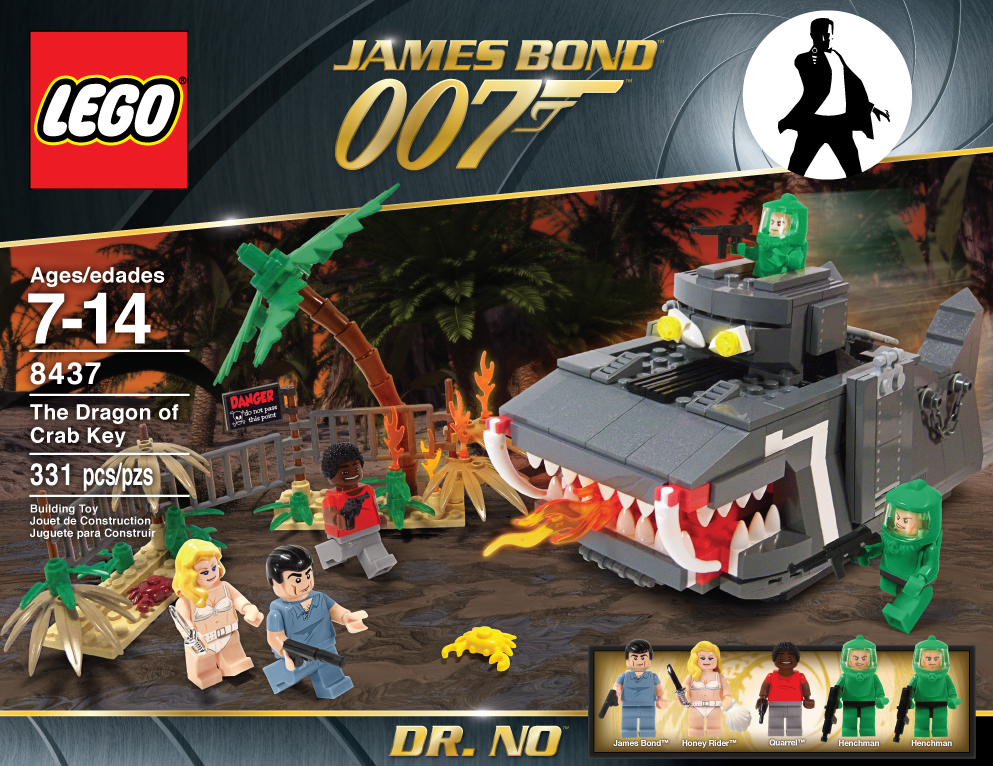 James Bond Lego Set 1 by Jeffach