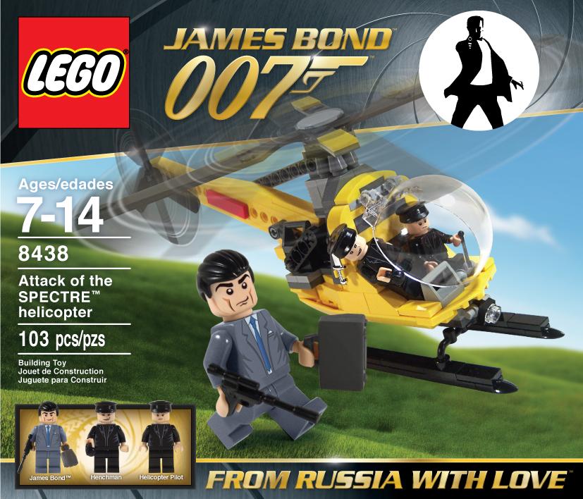 James Bond lego set 2 by Jeffach