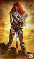 Red Sonja by Jeffach