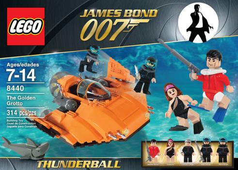 James Bond lego set 4