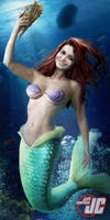 Ariel from The Little Mermaid by Jeffach
