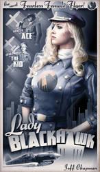 Lady BlackHawk by Jeffach
