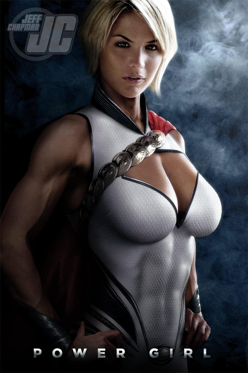 Power Girl 2 by Jeffach