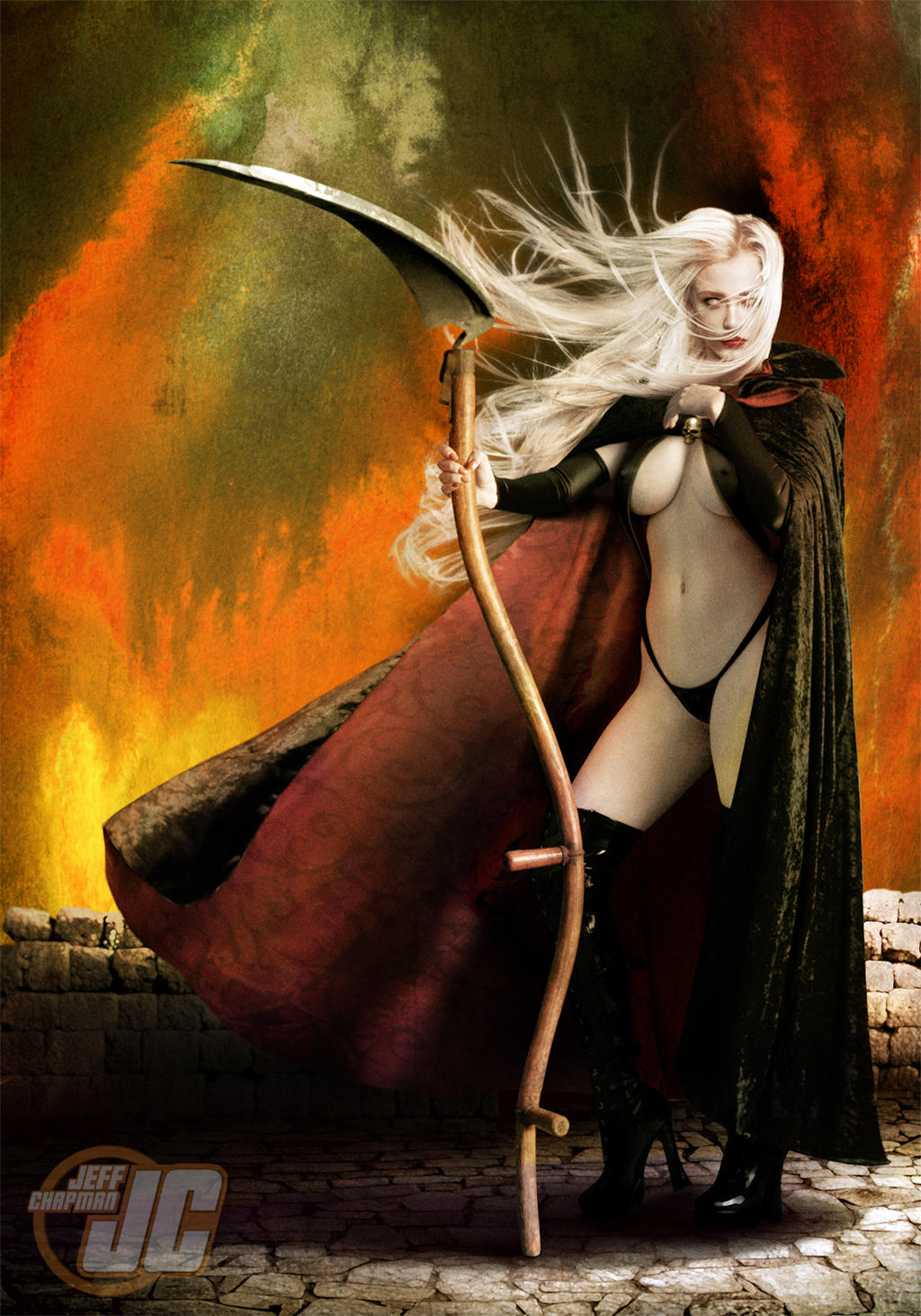 Lady Death Reaper by Jeffach
