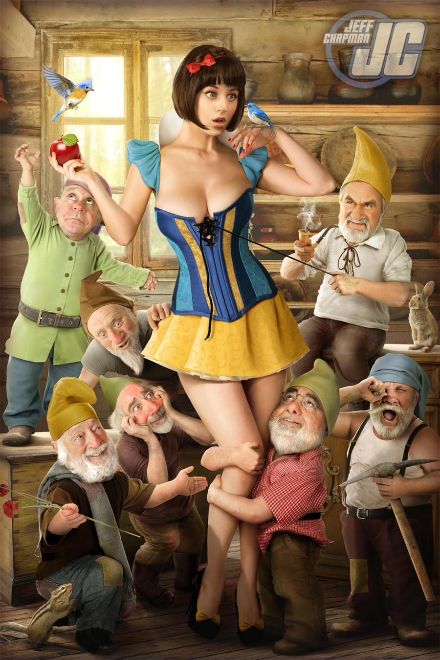 Snow White By Jeffach On Deviantart